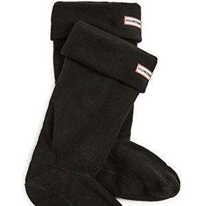 Hunter Women's Fleece liner Boot Socks Size 8-10